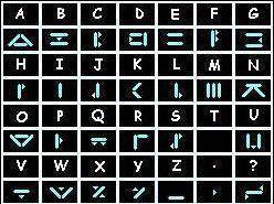alfabeto centáurico