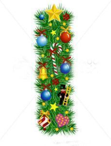 stock-vector-letter-i-christmas-decoration-alphabet-7021201