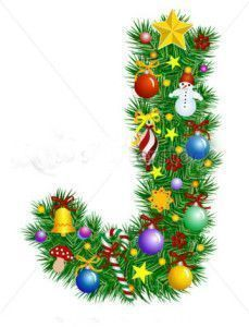 stock-vector-letter-j-christmas-tree-decoration-alphabet-7021204