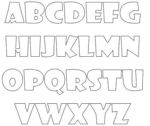 Top moldes de letras para decorar images for pinterest tattoos - Letras para adornar ...