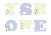 Moldes de letras de baby shower