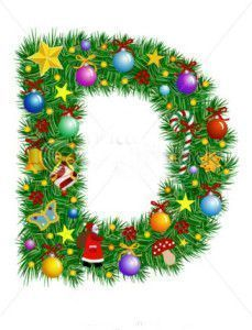 stock-vector-letter-d-christmas-decoration-alphabet-6991015