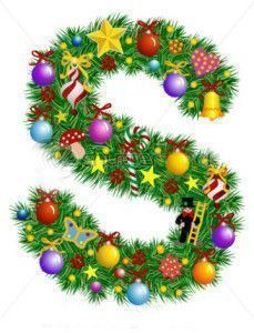 stock-vector-letter-s-christmas-decoration-alphabet-7027612