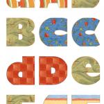 letras para mural