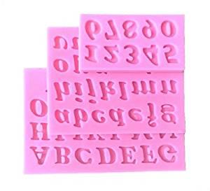 moldes de letras silicone